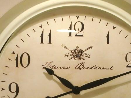 【ホワイトリム クロック】壁掛け時計