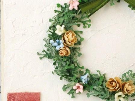 【リースボード】可愛い壁掛け飾り