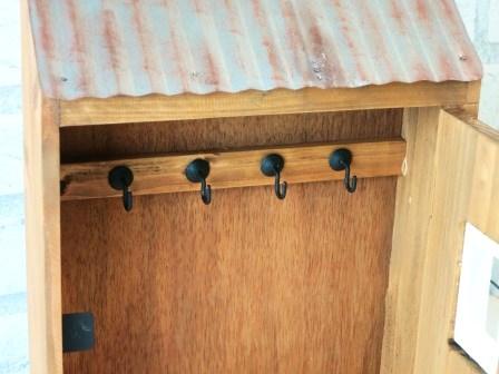 【キーフック ルーフボックス】ハウス型のキーボックス