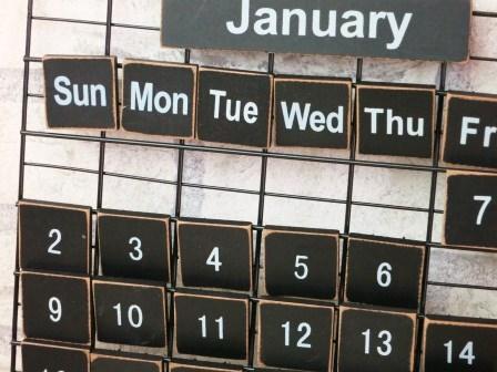 プリミティブカレンダーS(ブラック