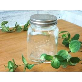 【ホームステッドジャー】アクシスのガラスの保存瓶 ガラスキャニスター