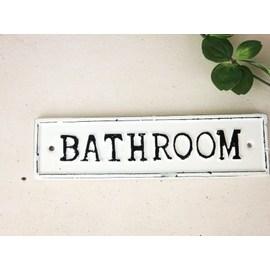 サインプレート バスルーム(BATHROOM
