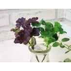 【クローバーピック(グリーン)(パープルグリーン)】造花のクローバー リーフ ナチュラル雑貨 インテリア雑貨
